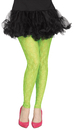 Morris Costumes FW-90554GR Tights Footless Green Lace 80S