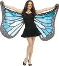 Fun World FW-90563BU Wings Soft Butterfly Adlt Blue