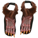 Fun World FW-90569BN Werewolf Shoe Cover Adult Brow