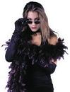 Fun World FW-9101BG Boa 6Ft Goth Feathr Burgndy