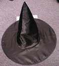 Fun World FW-9113K Witch Hat Deluxe Satin Chld