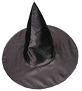 Fun World FW-9113 Witch Hat Deluxe Satin