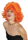 Fun World FW-92428RO Choppy Wig Red Orange