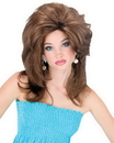 Fun World FW-92547BN Midwest Momma Wig Brown