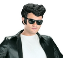 Fun World FW-92700 Greaser Wig Black