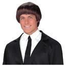 Fun World 92709 60S Band Member Brown Wig