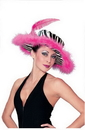 Fun World FW-93086 Zebra Pink Hat