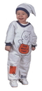 Fun World FW-9672M Ghost Jumpsuit 6 12 Months