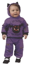 Fun World FW-9676M Hooded Bat 2Pc 6 12 Months