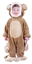 Fun World FW-9684M Cuddly Monkey Todlr 6 12 Mo