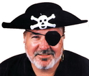 Morris Costumes GA-02XL Pirate Hat Quality Xlarge
