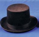 Morris Costumes GA-04BNLG Top Hat Felt Qual Brown Lrg