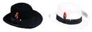 Morris Costumes GA-11GYSM Godfather Hat Grey Small