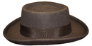 Morris Costumes GA-14BNLG Planter Hat Brown Large
