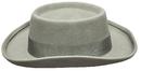 Morris Costumes GA-14GYLG Planter Hat Grey Large