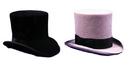 Morris Costumes GA-15BKLG Tall Hat Black Large