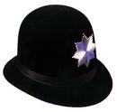Morris Costumes GA-28MD Keystone Cop Hat Qual Med