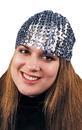 Morris Costumes GA-67SV Cloche Hat Sequin Silver