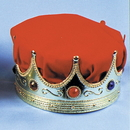 Morris Costumes GB-23RD Crown Kings With Red Turban