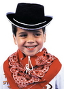 Rasta Imposta GC-113 Cowboy Hat Child Black