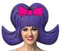 Morris Costumes GC-1351 Bouffant Purple Comic Wig