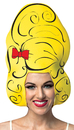 Morris Costumes GC-1352 Behive Yellow Comic Wig