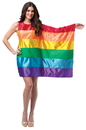 Rasta Imposta GC-1969 Flag Dress Rainbow Adult