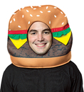 Morris Costumes GC-3551 Cheeseburger Open Face Mask