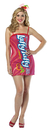 Rasta Imposta GC-3977 Laffy Taffy Tube Dress Cherry