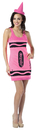 Rasta Imposta GC-451122 Crayola Tank Dress Neon Pink