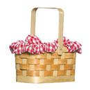 Rasta Imposta GC-5998 Purse Gingham Basket W Dog
