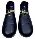 Morris Costumes HA-01BK Clown Shoe Plastic Black*