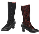 Morris Costumes HA-153RD9 Boot Spooky Red Size 9