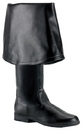 Morris Costumes HA-163BK13 Maverick Boots 2045 Black 13