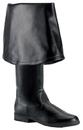 Morris Costumes HA-163BK8 Maverick Boots 2045 Black 8