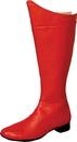 Morris Costumes HA-53RDLG Boot Super Hero Red Men Lg