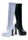 Morris Costumes HA-5WT12 Boot Chacha White Size 12