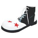 Morris Costumes HA-60BWLG Shoe Clown B And W Men Lg