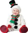 InCharacter IC-56002TS Silly Snowman 12-18Mo