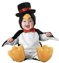 InCharacter IC-6010TXS Lil Penguin Character 6-12Mos
