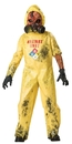 Incharacter 92006LG Hazmat Hazard Child Size 10