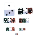 Morris Costumes LA-240 Dice 1 Inch  Red
