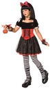 Morris Costumes LF-3020CMD Poisoned Princess Child Medium