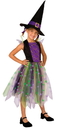 Morris Costumes LF-3083CLG Light Up Rainbow Witch Ch12-14