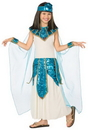 Morris Costumes LF-3160CLG Cleopatra Blue Gold Chld 12-14