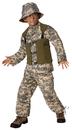Morris Costumes LF-3502CSM Delta Force Child 4-6