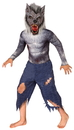 Morris Costumes LF-3681BSM Werewolf Child Small 4-6