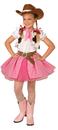 Morris Costumes LF-4008PKSM Cowgirl Cutie Child Small 4-6