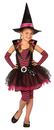 Morris Costumes LF-4035SM Stripey Witch Child Small 4-6