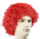 Morris Costumes LW-106RD Curly Clown Fd Red